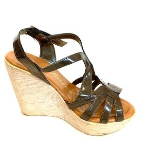 Mink/Taupe Colored Wedge Sandal